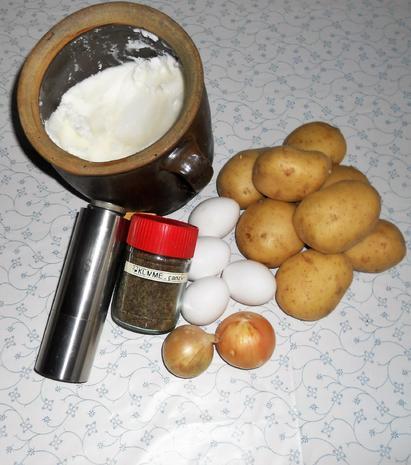 """Oma - Friede`s""- ostpr. Kartoffelpuffer ( Rzpt. um 1890) - Rezept - Bild Nr. 1900"