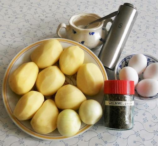 """Oma - Friede`s""- ostpr. Kartoffelpuffer ( Rzpt. um 1890) - Rezept - Bild Nr. 1901"