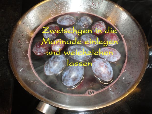 Balsamico Rotwein Zwetschgen - Rezept - Bild Nr. 1391