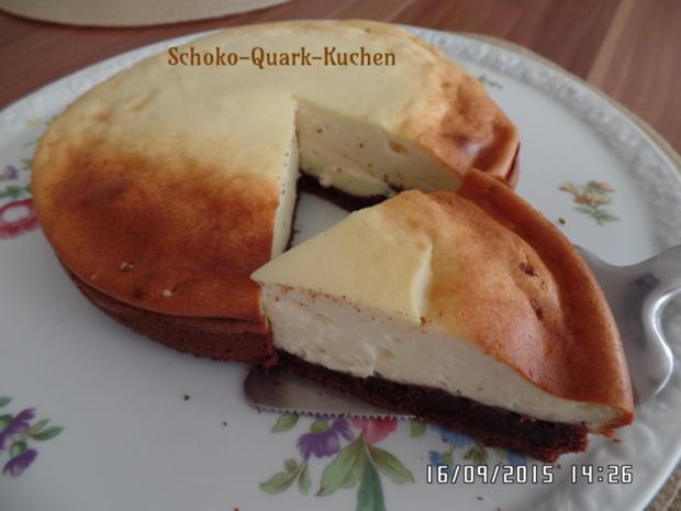 Schoko-Quark-Kuchen - Rezept - Bild Nr. 1392