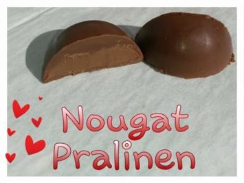 Rezept: Nougat Pralinen / Nugat Pralinen