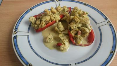 Gefüllte Spitz - Paprika mit Puten Curry - Rezept - Bild Nr. 1416