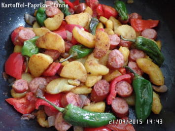 Kartoffel-Paprika-Pfanne - Rezept - Bild Nr. 1429