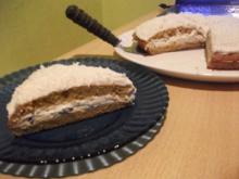Kuchen mit Straciatellacreme  Low Carb - Rezept - Bild Nr. 1439