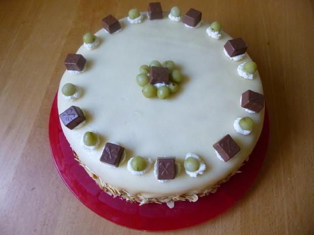 Stachelbeer-Marzipan-Torte - Rezept - Bild Nr. 1455