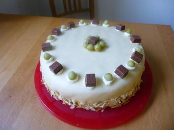 Stachelbeer-Marzipan-Torte - Rezept - Bild Nr. 1456