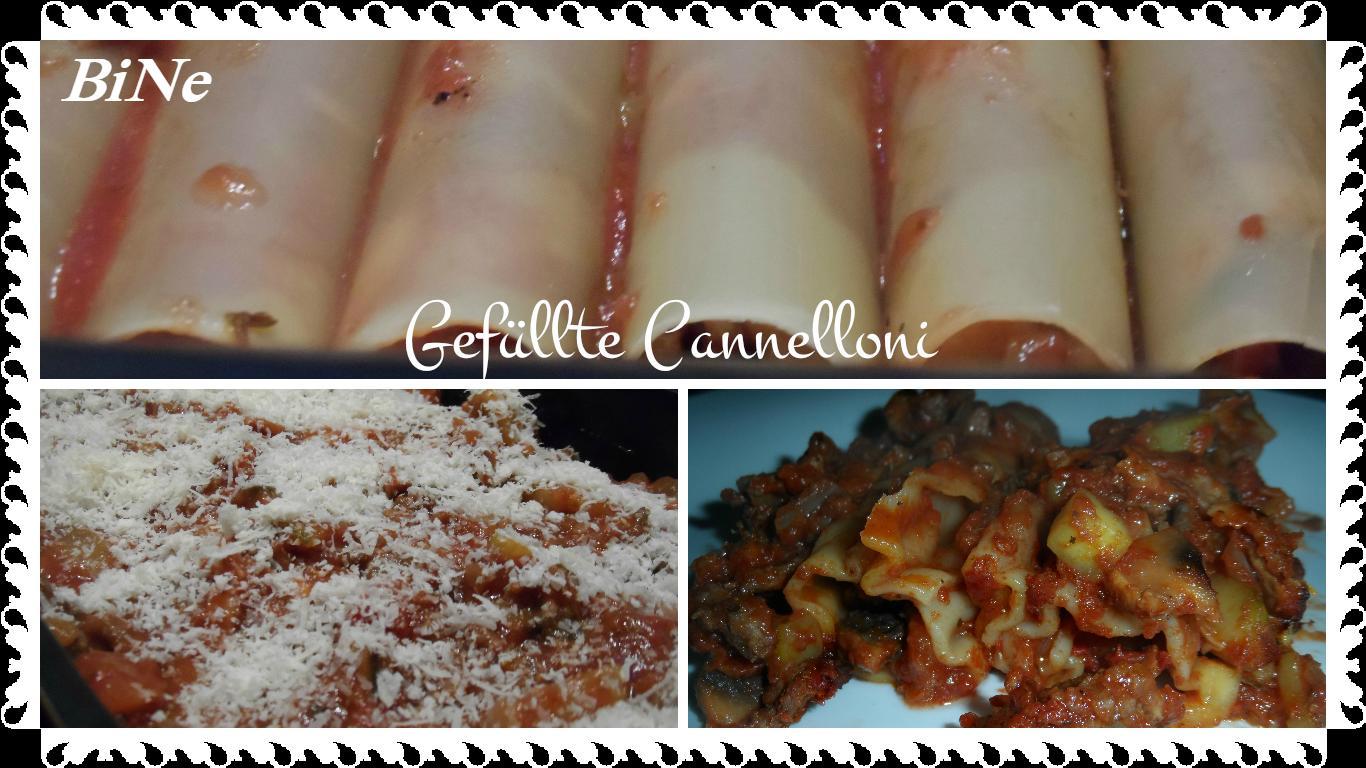Bilder für BiNe` S GEFÜLLTE CANNELLONI - Rezept