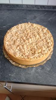 Apfelmus- Vanillepudding-Kuchen - Rezept - Bild Nr. 1484