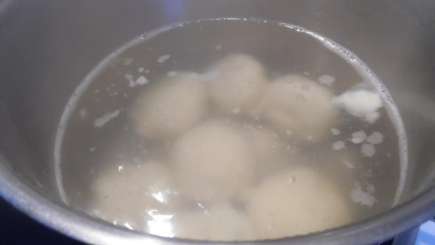 Kartoffelklöße aus gekochten Kartoffeln - Rezept - Bild Nr. 1530