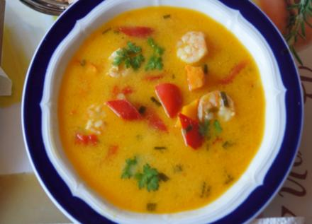 Kürbis-Paprika-Suppe - Rezept - Bild Nr. 1550