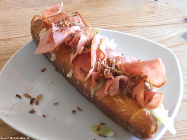 Bayrischer Hotdog - Rezept - Bild Nr. 1551