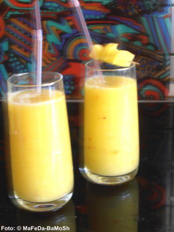 Mango-Nektarinen-Smoothie - Rezept - Bild Nr. 1551