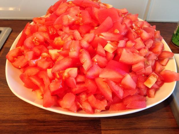 Leckere Pizzasoße - mit frischen Tomaten - Rezept - Bild Nr. 1589