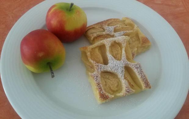 Apfelkuchen saftig und lecker - Rezept - Bild Nr. 1590