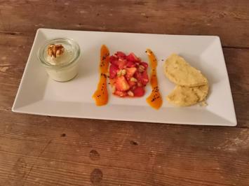 Erdbeere, Gurke, Mascarpone, Keks - Rezept - Bild Nr. 1644
