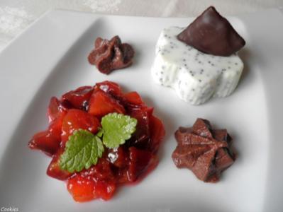 Weißer Schokoladen - Mohn - Pudding ... - Rezept - Bild Nr. 1647