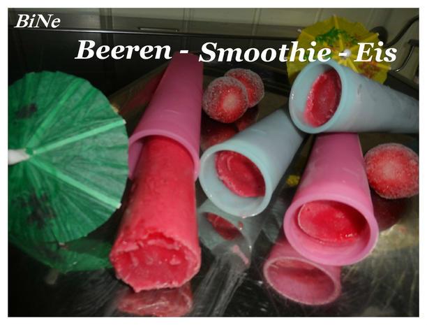 BiNe` S BEEREN - SMOOTHIE - EIS - Rezept - Bild Nr. 1655