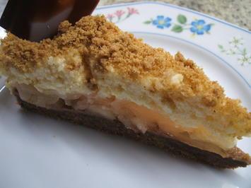 Rezept: Backen: Apfeltorte mit Zimt-Butter-Creme