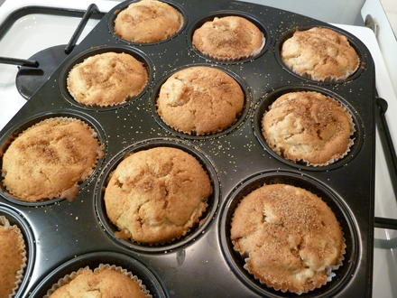 Apfel-Zimt-Muffins - Rezept - Bild Nr. 1663