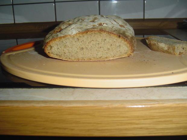 Leckeres Brot aus 700 gramm Sauerteig - Rezept - Bild Nr. 1671