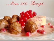 Eine fruchtige  Preiselbeersauce zu Fleischbällchen  und ... - Rezept - Bild Nr. 1779
