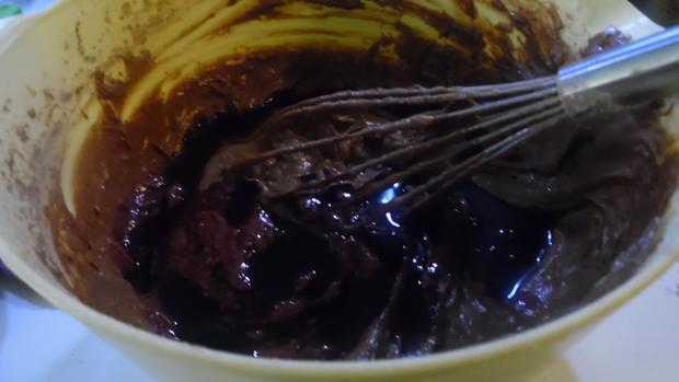 Schoko-Kuchen mit versunkenen Birnen - Rezept - Bild Nr. 1892