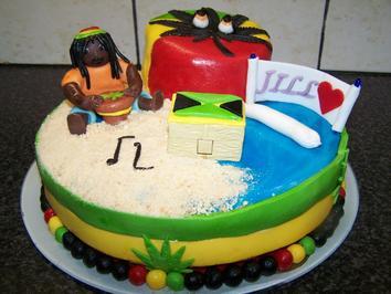 Rezept: JILL's Traum von einer Reggae - Torte