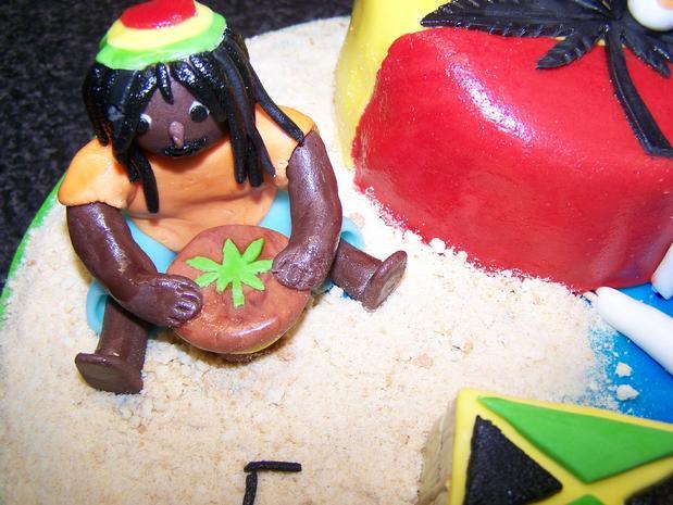 JILL's Traum von einer Reggae - Torte - Rezept - Bild Nr. 1935
