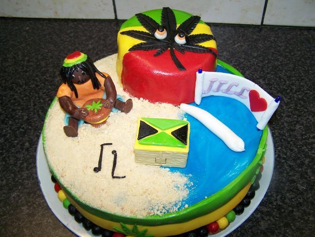 JILL's Traum von einer Reggae - Torte - Rezept - Bild Nr. 1938