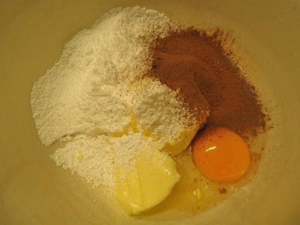 Schokoladen - Tarte ... mit Safranbirnen - Rezept - Bild Nr. 2045