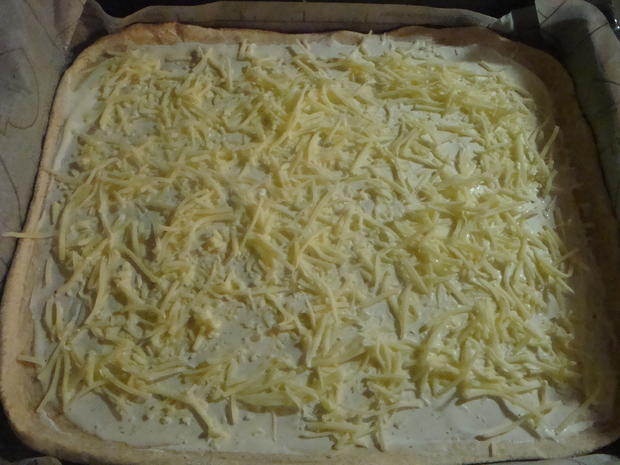 Bunte Pizza mit Quark- Öl-Teig pikant - Rezept - Bild Nr. 2046