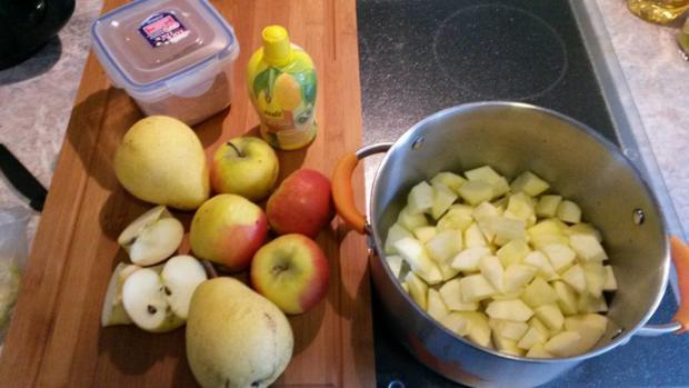 Apfel - Birnen - Kompott - Rezept - Bild Nr. 2046
