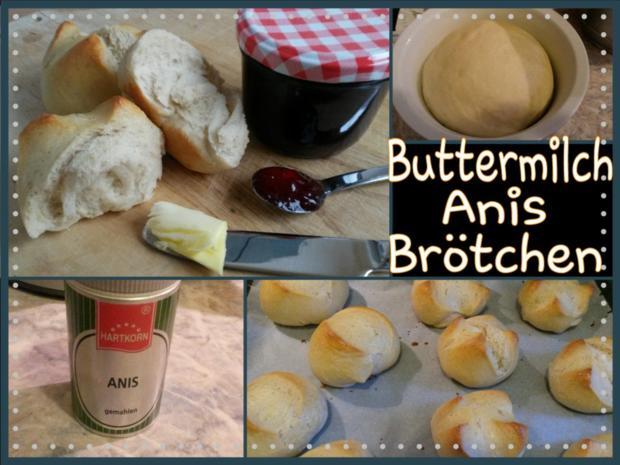 Buttermilch - Anis - Brötchen - Rezept - Bild Nr. 2052
