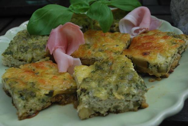 Zucchini-Frittata - Rezept - Bild Nr. 2051