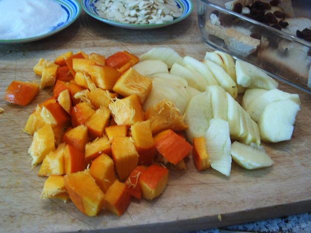 Kürbis- Apfel-Auflauf - Rezept - Bild Nr. 2091