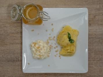 Gewürztraminer Apfelgelee mit Mandelsahne - Rezept - Bild Nr. 2088