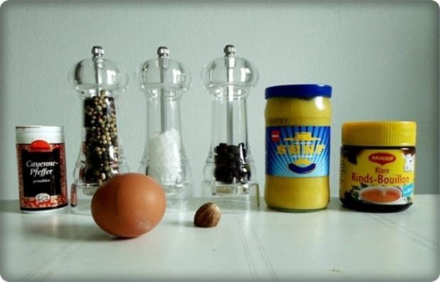 Mini Fleischbällchen am Spieß mit scharfer Tomatensauce - Rezept - Bild Nr. 2114