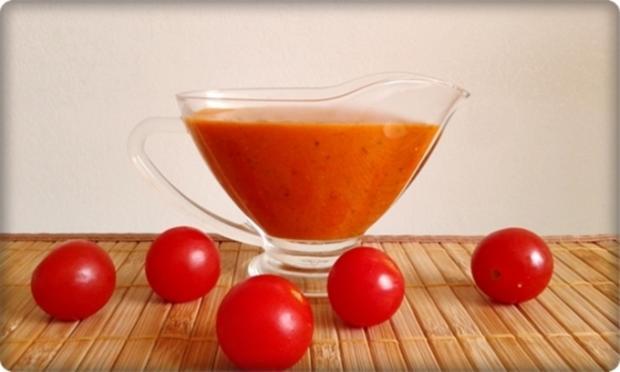 Mini Fleischbällchen am Spieß mit scharfer Tomatensauce - Rezept - Bild Nr. 2121