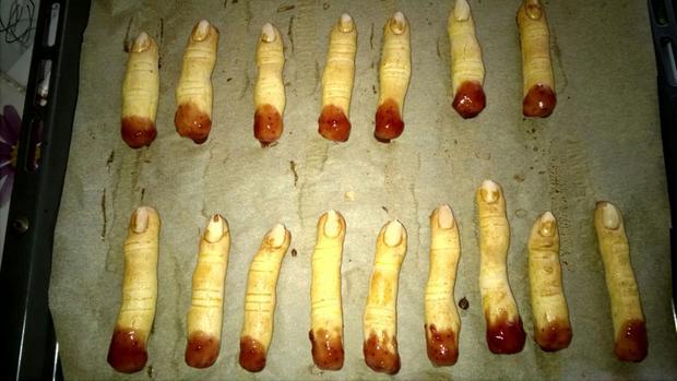 Halloween-Finger - Rezept - Bild Nr. 2137