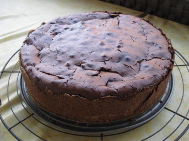 Frischkase Schoko Kuchen Mit Apfeln Rezept Kochbar De