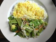 Asiatisches Gemüse mit Reis - Rezept - Bild Nr. 2195