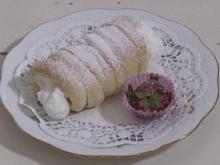 Schaumrollen mit Schokoladen-Erdbeeren - Rezept - Bild Nr. 2186