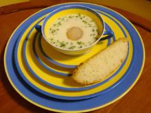 Vichyssoise mit provenzalischem Brot - Rezept - Bild Nr. 2189