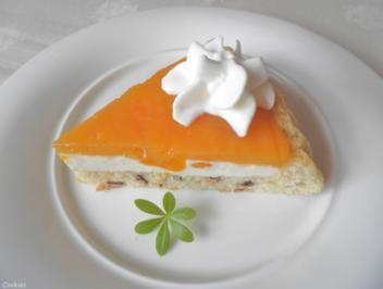 Kleine Torte mit Mandarinen und Kaki - Rezept - Bild Nr. 2227