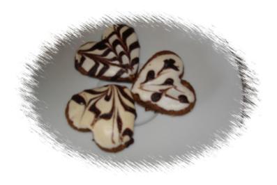 Cappuccino-Herzen  - Rezept - Bild Nr. 2233