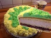 Mazu12-Mascarpone Torte mit Götterspeise und gefärbte Sahne - Rezept - Bild Nr. 2228