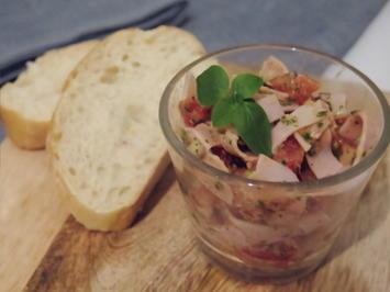 Prosciutto cotto Salat mit Grana Padano - Rezept - Bild Nr. 2191