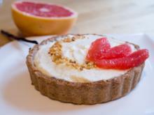 Nuss-Tarteletts mit Vanille-Grapefruit-Creme - Rezept - Bild Nr. 2265
