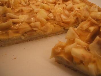 Rezept: Backen: Cidre-Apfel-Tarte