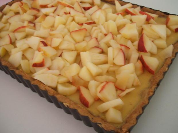 Backen: Cidre-Apfel-Tarte - Rezept - Bild Nr. 2292